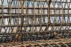 Cage en acier Photos stock