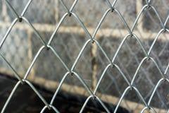 Cage en métal Photos stock