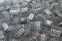 Cage feeders Stock Photos
