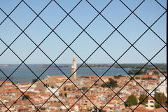 Cage or fence Stock Photos