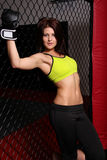 Cage Girl Stock Images