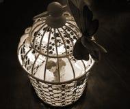 Cage légère - épouser la décoration photos stock