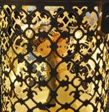 Cage légère - épouser la décoration photographie stock