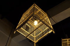 Cage lamp Stock Image