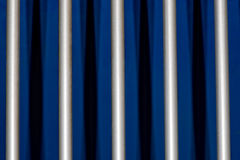 Cage metallic bars Stock Photography