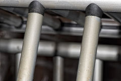 Cage metallic bars Stock Image