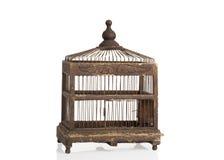Cage à oiseaux d'Edwardian Images libres de droits