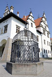 Cage of Shame in Levoca, Slovakia Stock Photography
