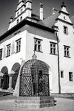 Cage of shame in town Levoca, Slovakia Stock Photography