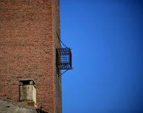 Cage tower, details Royalty Free Stock Images