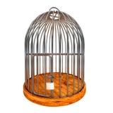Cage verrouillée Photographie stock libre de droits