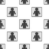 Caged icon. Element of Oil icons for mobile concept and web apps. Pattern repeat seamlesscaged icon can be used for web and mobile. On white background Stock Photography