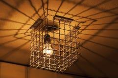 Caged ljus Arkivbilder