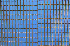 Caged sky Royalty Free Stock Image