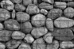 Caged stones Royalty Free Stock Images