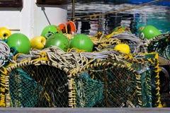 Cages de langoustine Photo libre de droits