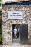 Cages de tigre, musée de restes de guerre, Saigon Images stock