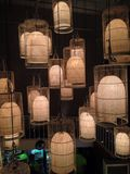 Cages of Lights Stock Photography