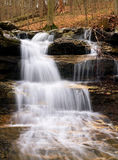 Cagle's Mill Dam Waterfall, Indiana Stock Photos