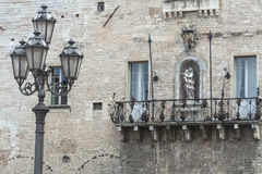 Cagli (3月,意大利) 免版税图库摄影