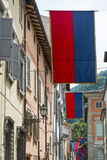 Cagli (gränser, Italien) Arkivfoton
