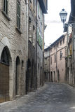 Cagli (Marches, Italy) Royalty Free Stock Images