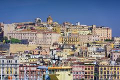 Cagliar, Italy Cityscape Royalty Free Stock Photo