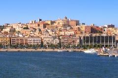 Cagliari Imagens de Stock