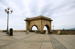 Cagliari, bastione Royalty-vrije Stock Foto's