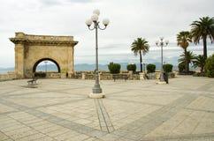Cagliari, bastione Royalty-vrije Stock Afbeelding