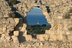 Cagliari bay Stock Photos