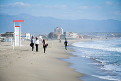 Cagliari beach stock photos