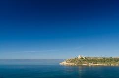 Cagliari Cala Mosca Royaltyfri Foto