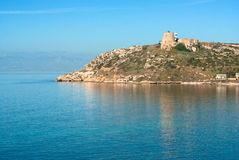 Cagliari, Cala Mosca Royalty Free Stock Images