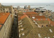Cagliari, Castello Stock Afbeelding