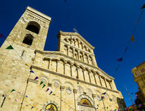 Cagliari Cathedral Stock Photography