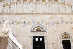 Cagliari cathedral Stock Photos