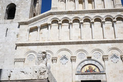 Cagliari cathedral Stock Photo