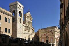 Cagliari Cathedral Stock Image