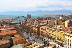 Cagliari, Cerdeña, Italia fotografía de archivo libre de regalías