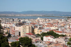 Cagliari city Stock Photo