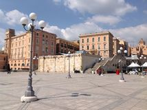 Cagliari city Royalty Free Stock Images