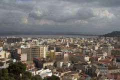 Cagliari: city landscapes - Sardinia Royalty Free Stock Images
