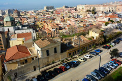 Cagliari city Royalty Free Stock Photography