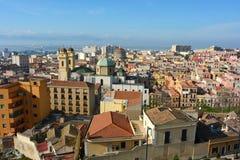 Cagliari city Stock Images