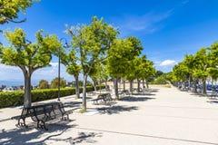 Cagliari city, Sardinia island, Italy Stock Images