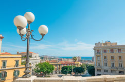 Cagliari cityscape royalty free stock photo