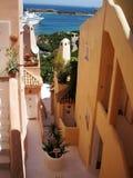 Cagliari, console de Sardinia Fotografia de Stock Royalty Free