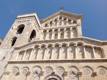 Cagliari domkyrka Arkivbild