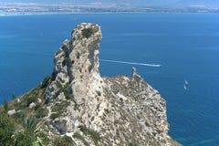 Cagliari gulf. Cagliari (Sardinia - Italy) Stock Images